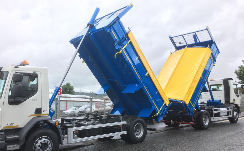 18t Approved DAF Insulated Tippers