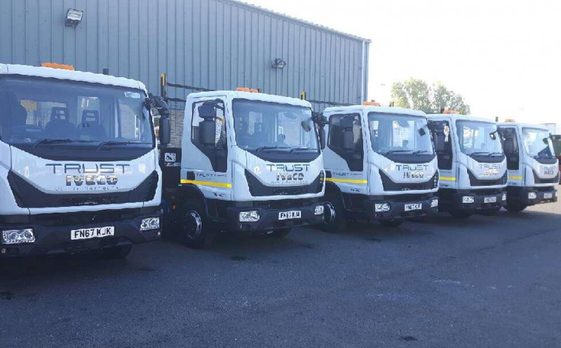7.5t Tippers Delivered On Time